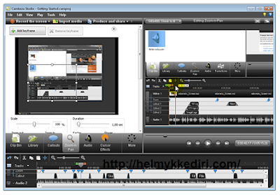 Software editing videog