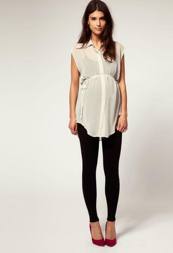 18 Model Baju Hamil Modis Modern dan Lucu Untuk Ibu Hamil