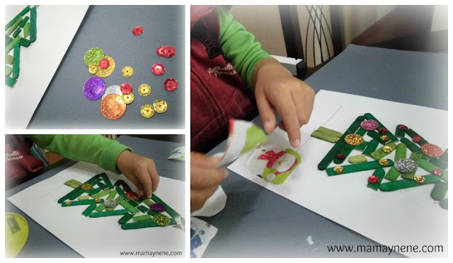 COLLAGE-ARBOL-NAVIDAD-MAMAYNENE-CHRISTMAS-CRAFT