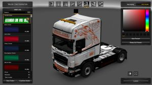 Swede Trans Skin for Scania RJL