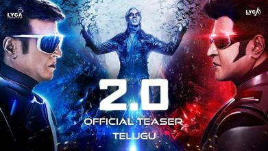2.0 Trailer is Finally Released Starring Rajinikanth and Akshay Kumar