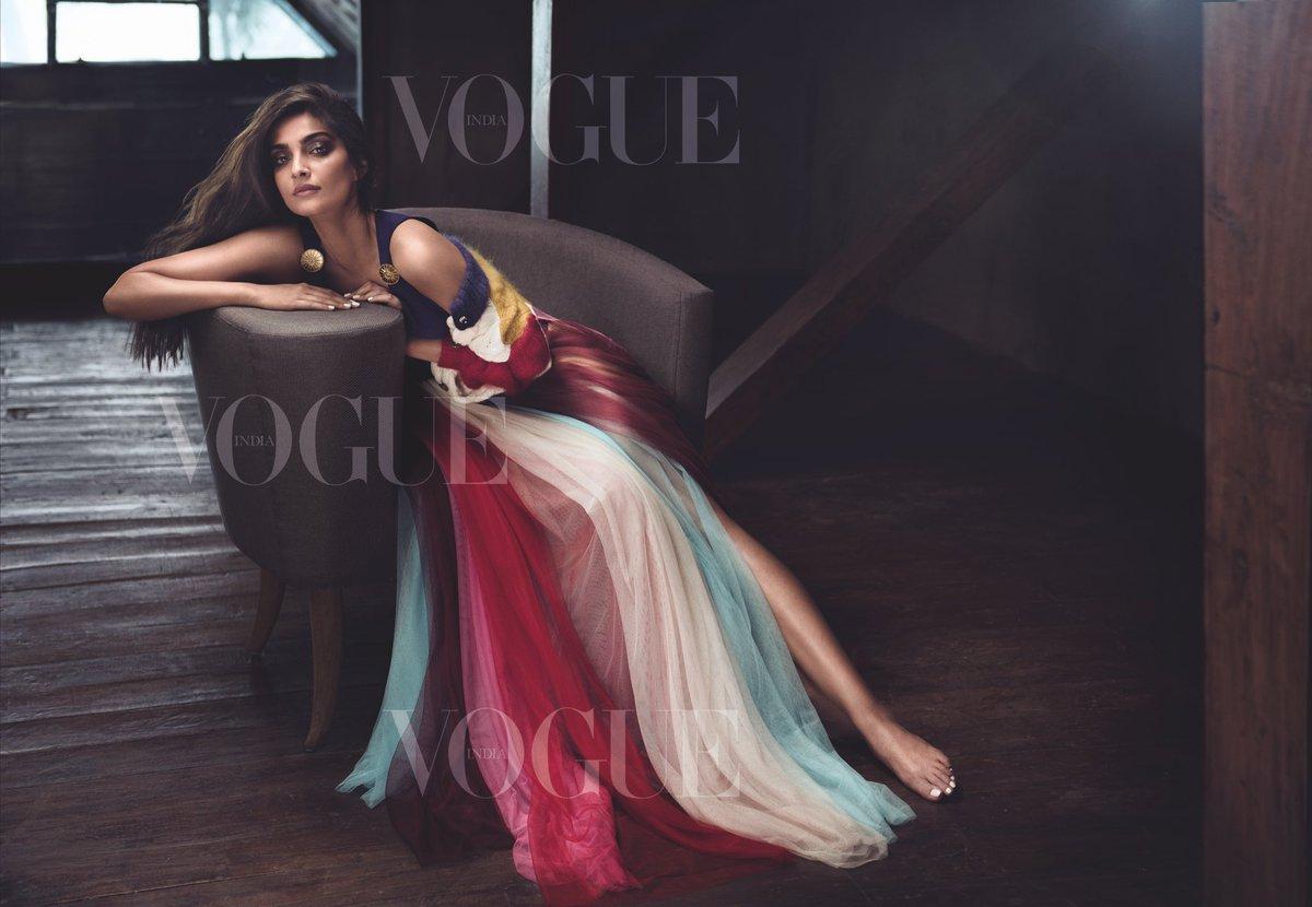 Sonam Kapoor Vogue India June 2017