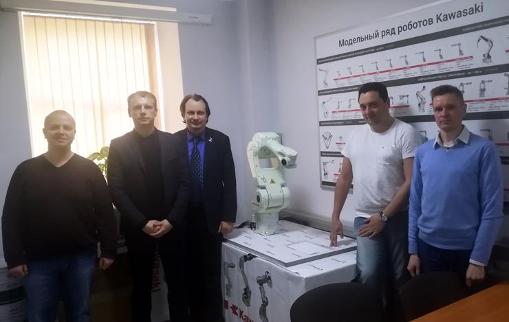 Встреча участников консорциума ООО «Робовизард», «Кемппи Россия» и «МультиСистемная Интеграция»