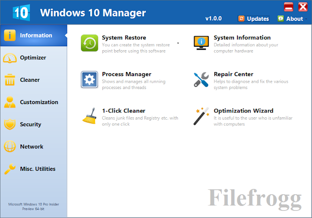 Windows 10 Manager Full