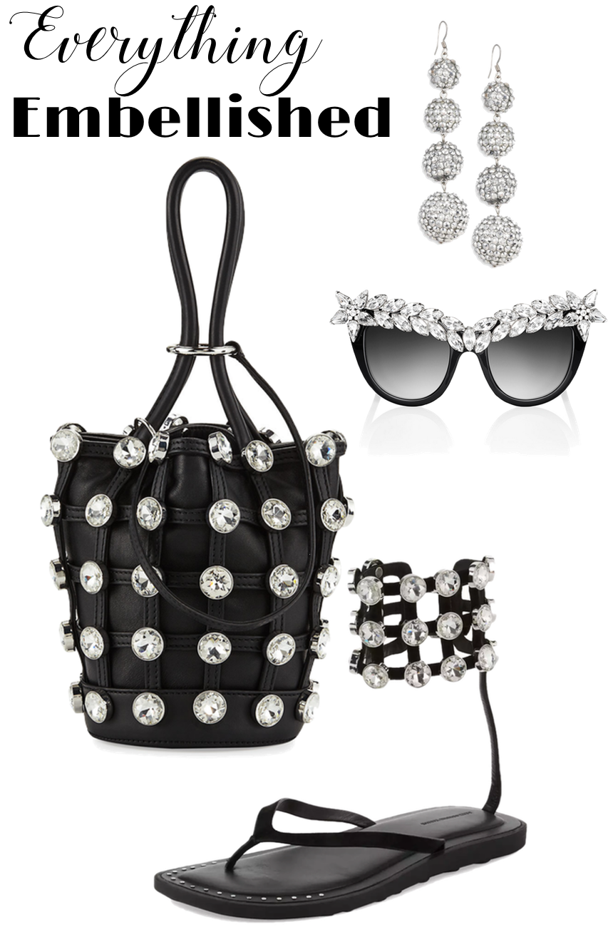 Alexander Wang Roxy Mini Studded Leather Bucket Bag
