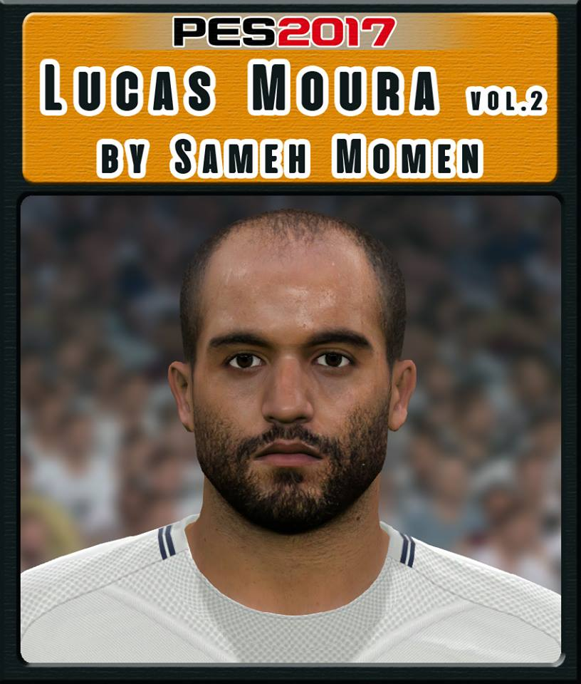 PES 2017 Lucas Moura Face Vol.2 by Sameh Momen