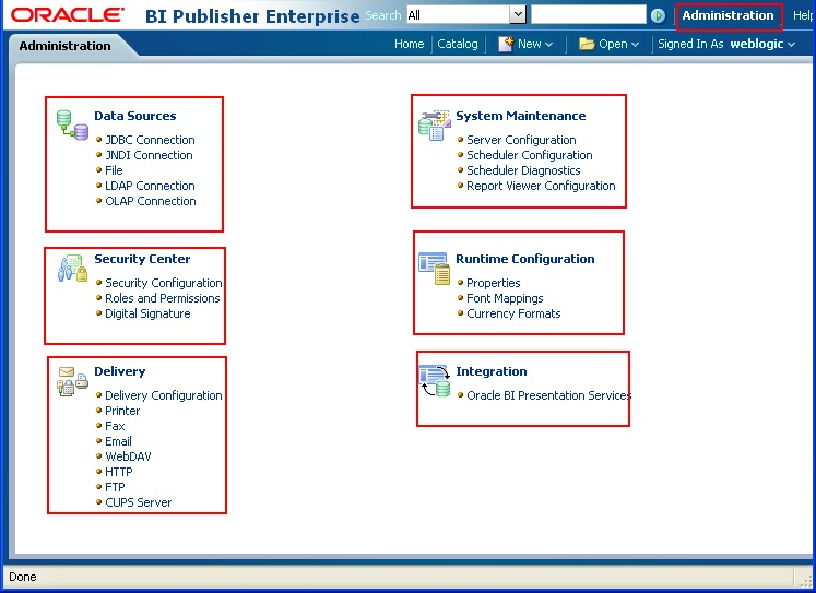 Working with BI Publisher 11g - Part1 - Creating Data Source