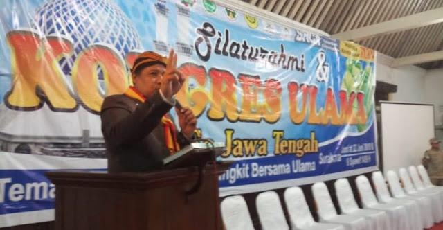 Kongres Ulama se-Jateng Rekomendasikan Umat Pilih Sudirman-Ida