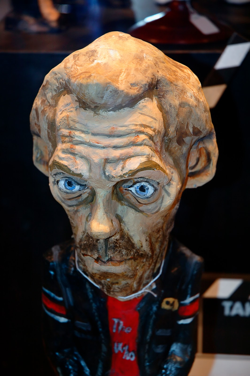Dr. House or Hugh Laurie in Papier Mache at Barcelona Store