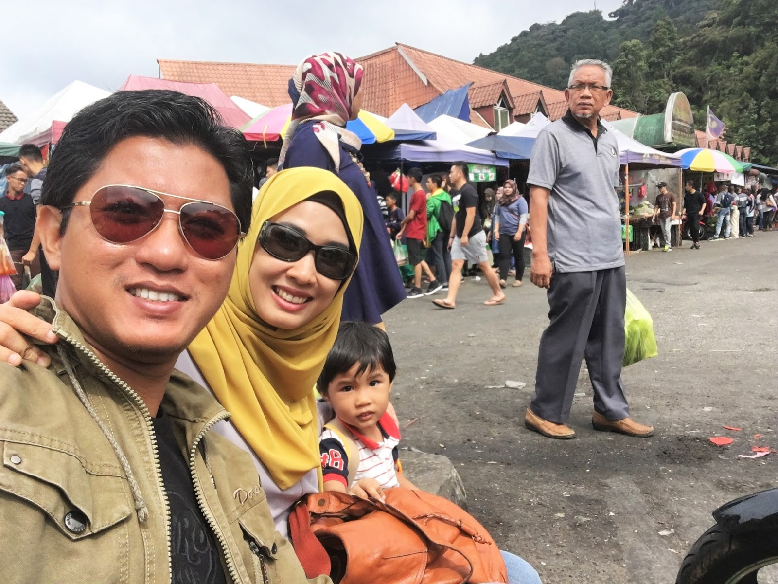 Sweet Escape To Cameron Highland With Familia│Fresh Vegetable & Fruit Shopping At Kea Farm, Brinchang