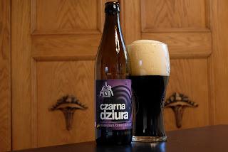 Czarna Dziura fra bryggeriet Pinta