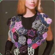 Cuello a Crochet