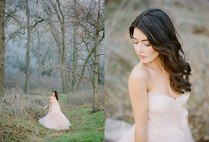 Red Romance Bridal Session At Fort Tejon Southern