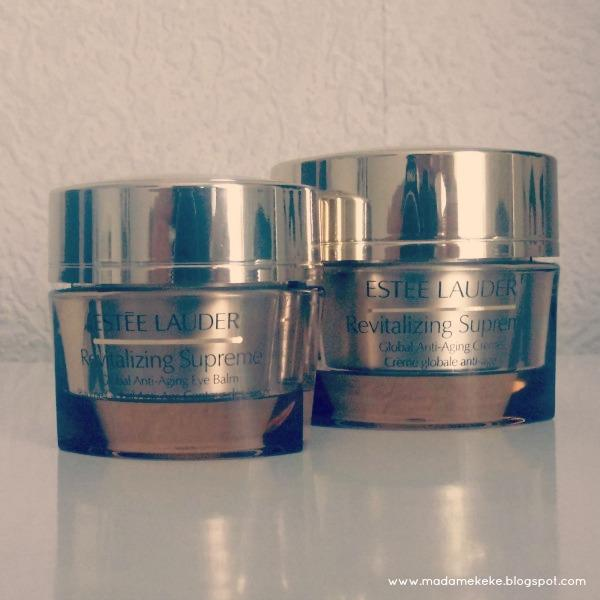 Estée Lauder Revitalizing Supreme Anti-Aging Creme and Eye Balm Review