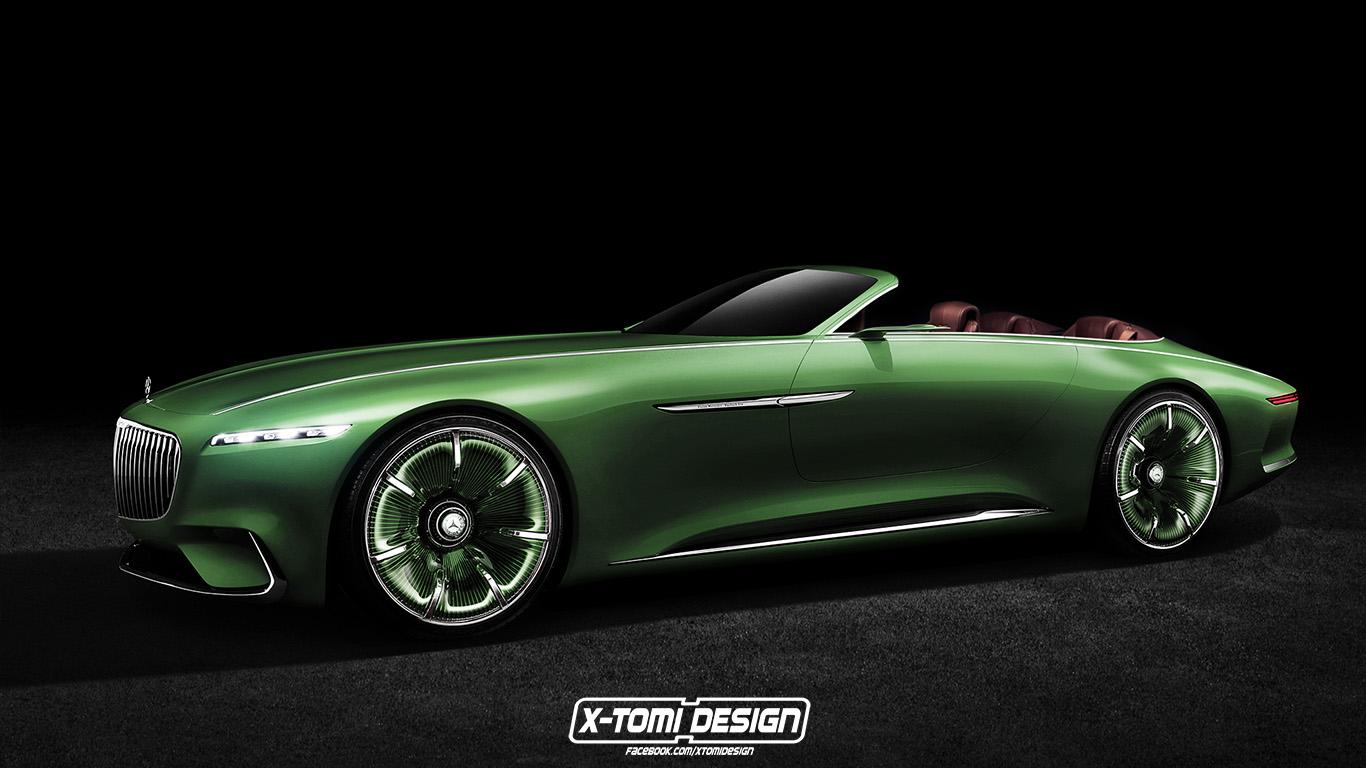 Mercedes Benz Vision Maybach 6 Cabriolet Concept