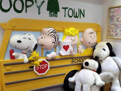Snoopy Town at Kiddy Land Tokyo Japan