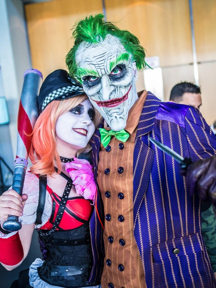Expotaku 2018 Joker y Harley Quinn