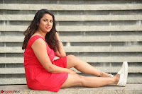 Shravya Reddy in Short Tight Red Dress Spicy Pics ~  Exclusive Pics 075.JPG
