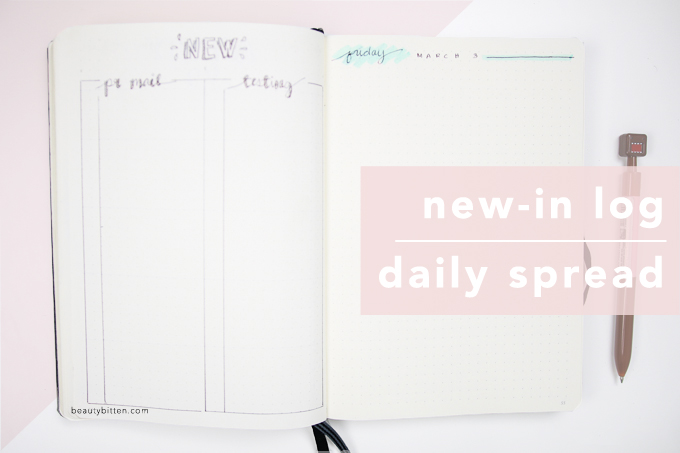 New In Log, Daily spread