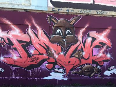 Graffiti Thalkirchen Nagetier Eichhörnchen