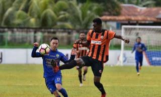 Susunan Pemain Perseru vs Persib Bandung
