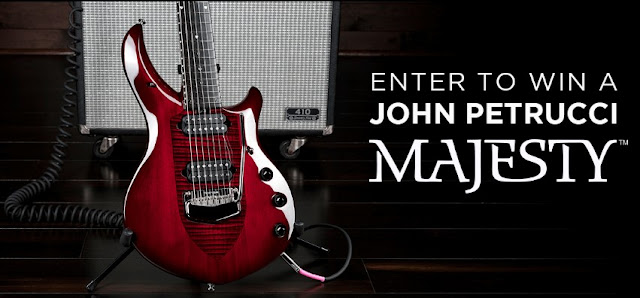 John Petrucci Monarchy Majesty Sweepstakes
