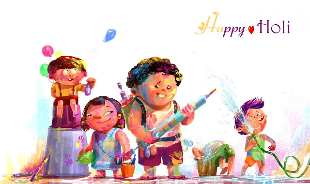 Happy Holi Animated Wallpaper-Download Wallpaper For Free