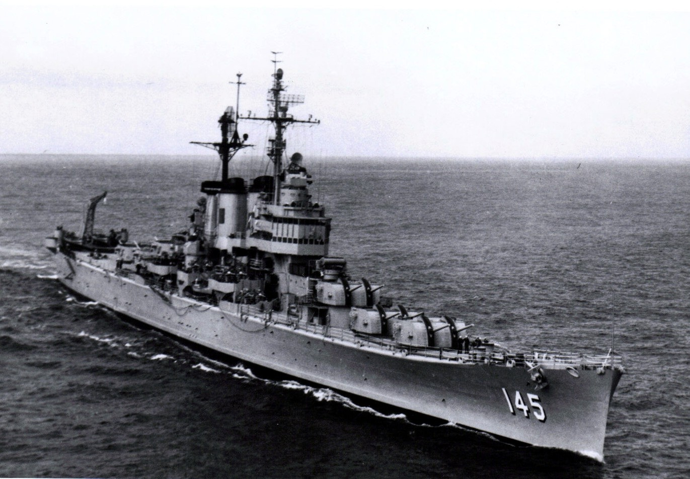Naval Analyses: WARSHIPS OF THE PAST: Worcester class anti ...