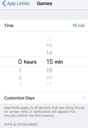 Cara Mengatur Waktu Tidur Layar di iOS 12
