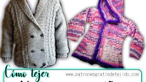 Cómo tejer abrigos para niños / Tutoriales Crochet