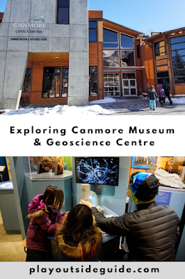canmore museum and geoscience centre pinterest pin