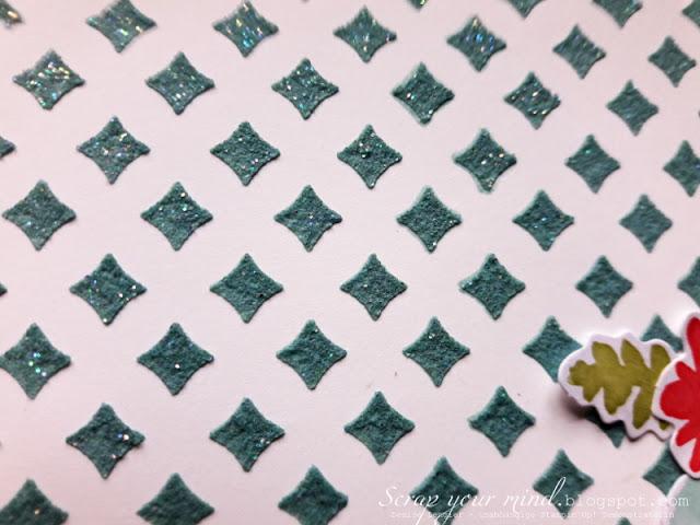 Strukturpaste-Farbe-Glitzerpulver