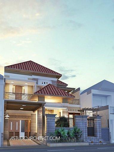Desain Rumah gaya Eklektik