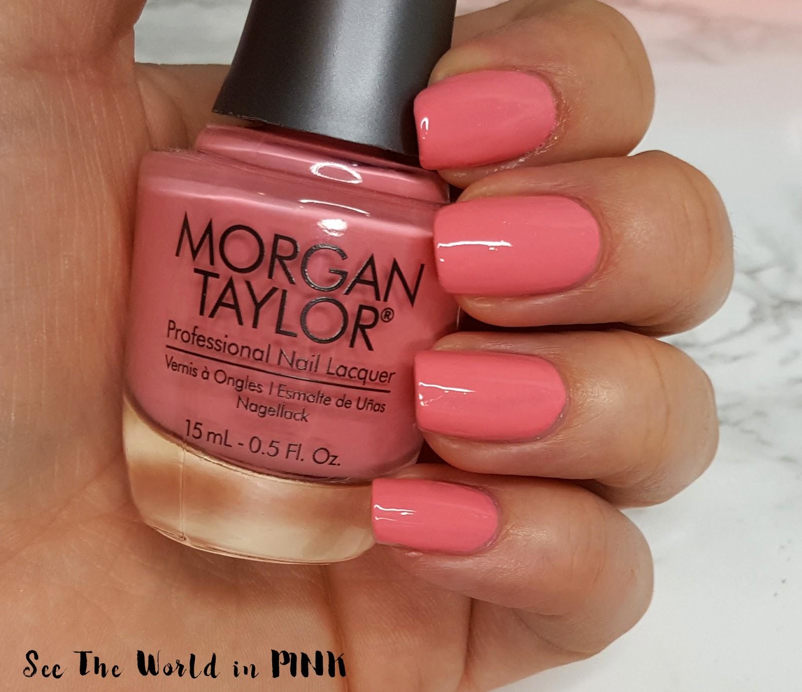 Morgan Taylor Royal Temptations collection Beauty Marks The Spot