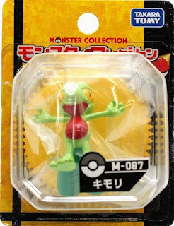 Treecko Pokemon Figure Takara Tomy Monster Collection M series
