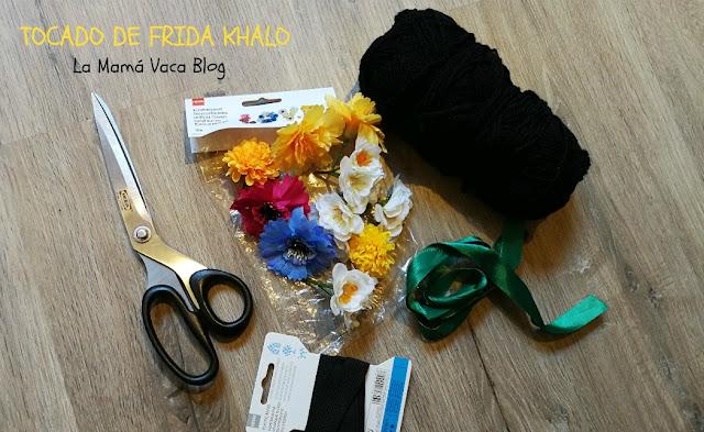 tutorial disfraz frida khalo