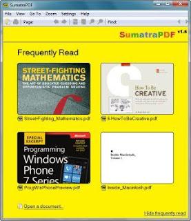 Sumatra PDF Screenshot