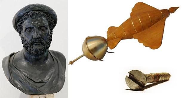 Αρχύτας ο Ταραντίνος: Ο Έλληνας που ανακάλυψε τη βίδα και κατασκεύασε το πρώτο αεριωθούμενο αεροπλάνο
