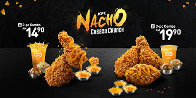 KFC Nacho Cheezy Crunch