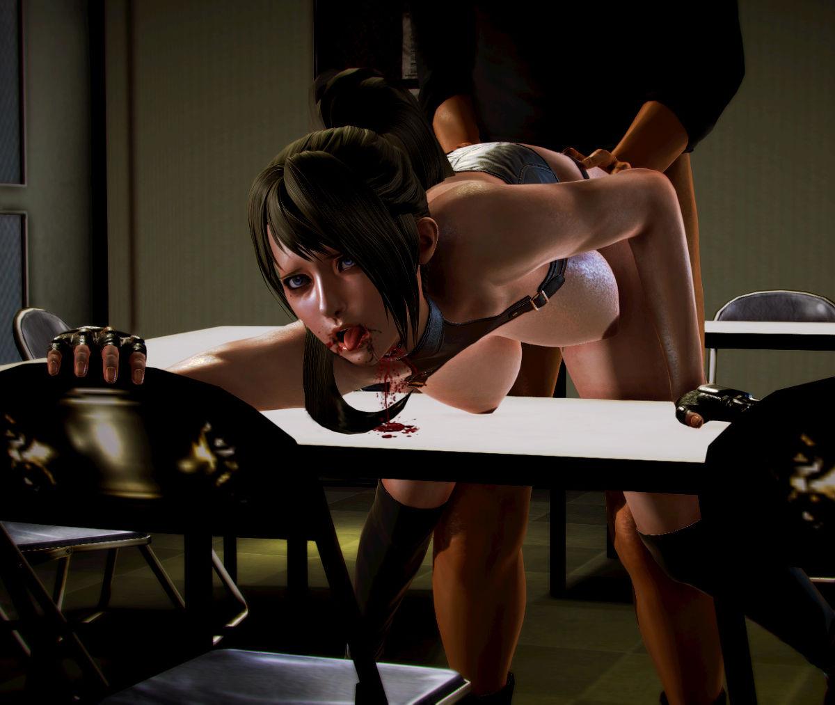 Hình ảnh 033 in Truyện Hentai 3D Nữ chiến binh Ryona