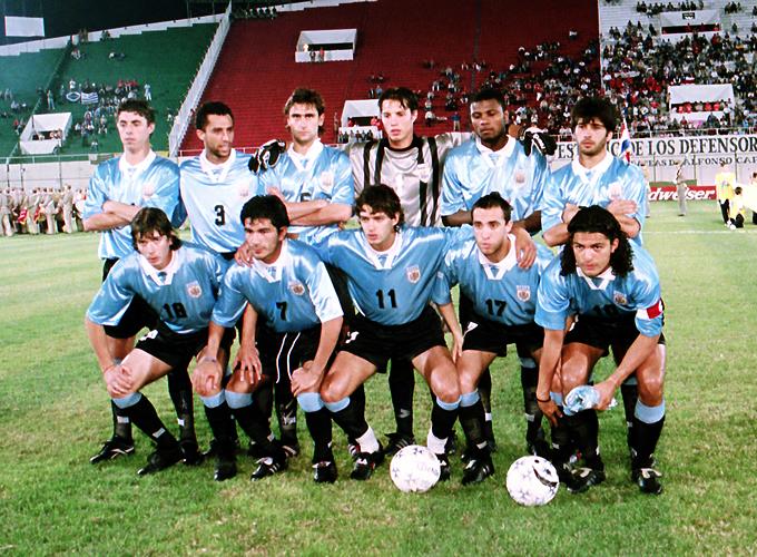Formación de Uruguay ante Chile, Copa América 1999, 13 de julio