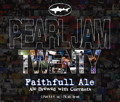 Pearl Jam Twenty Faithfull Ale by Dogfish Head Craft Brewery