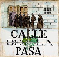 ´Quien no pasa por la Calle de la Pasa, no se casa !! ´