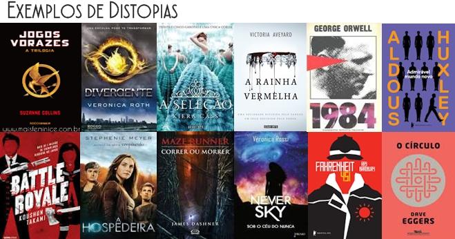 Livros de Distopia
