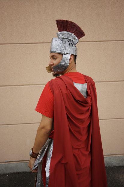 original disfraz soldado romano de carton