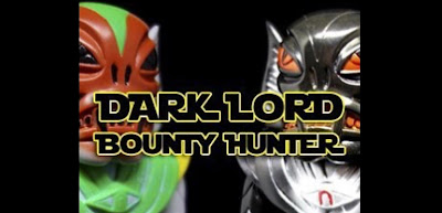 Star Wars Day 2018 Exclusive Glampyre Vinyl Figure Dark Lord & Bounty Hunter Editions by Martin Ontiveros x Toy Art Gallery