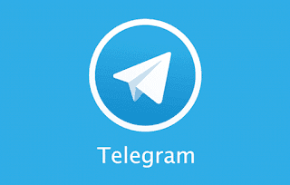 telegram button share blogger how to add
