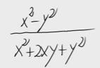 14.Simplificación de una fracción algebraica