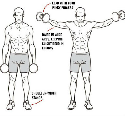 lateral raises for shoulders