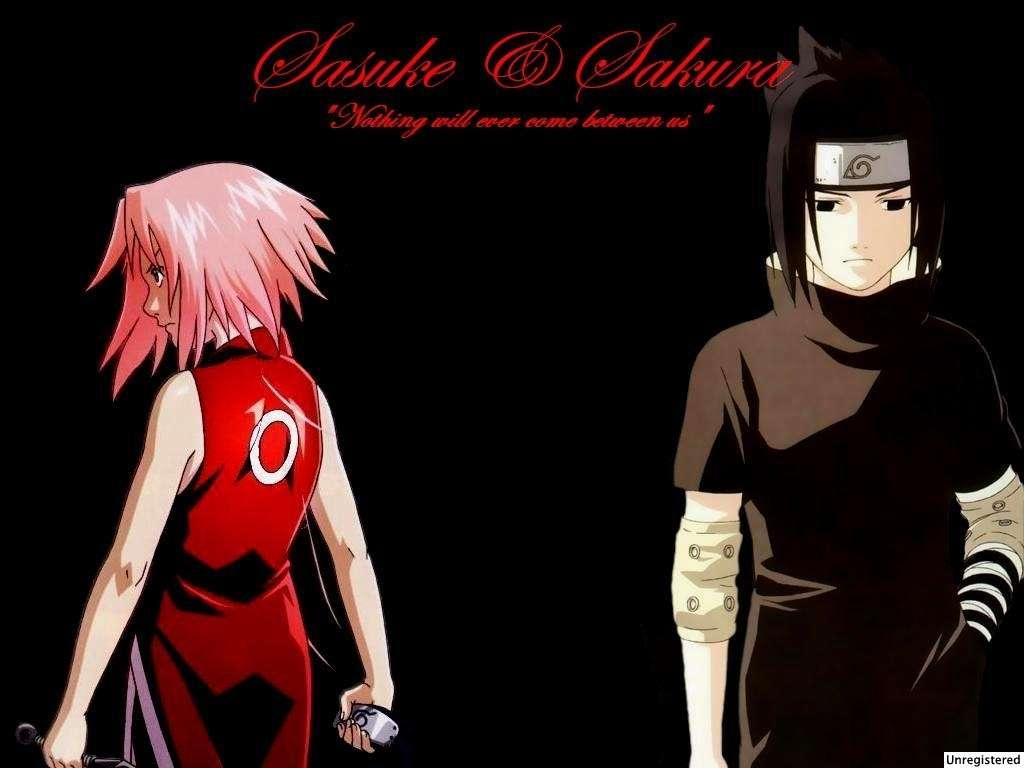 Wallpaper Sasuke Dan Sakura Romantis